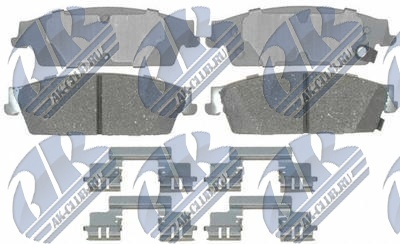 19286008 GENERAL MOTORS КОЛОДКИ ТОРМОЗНЫЕ ЗАДНИЕ GM PADS, BRAKE, REAR, D1194, K1500, AC-DELCO ADVANTAGE